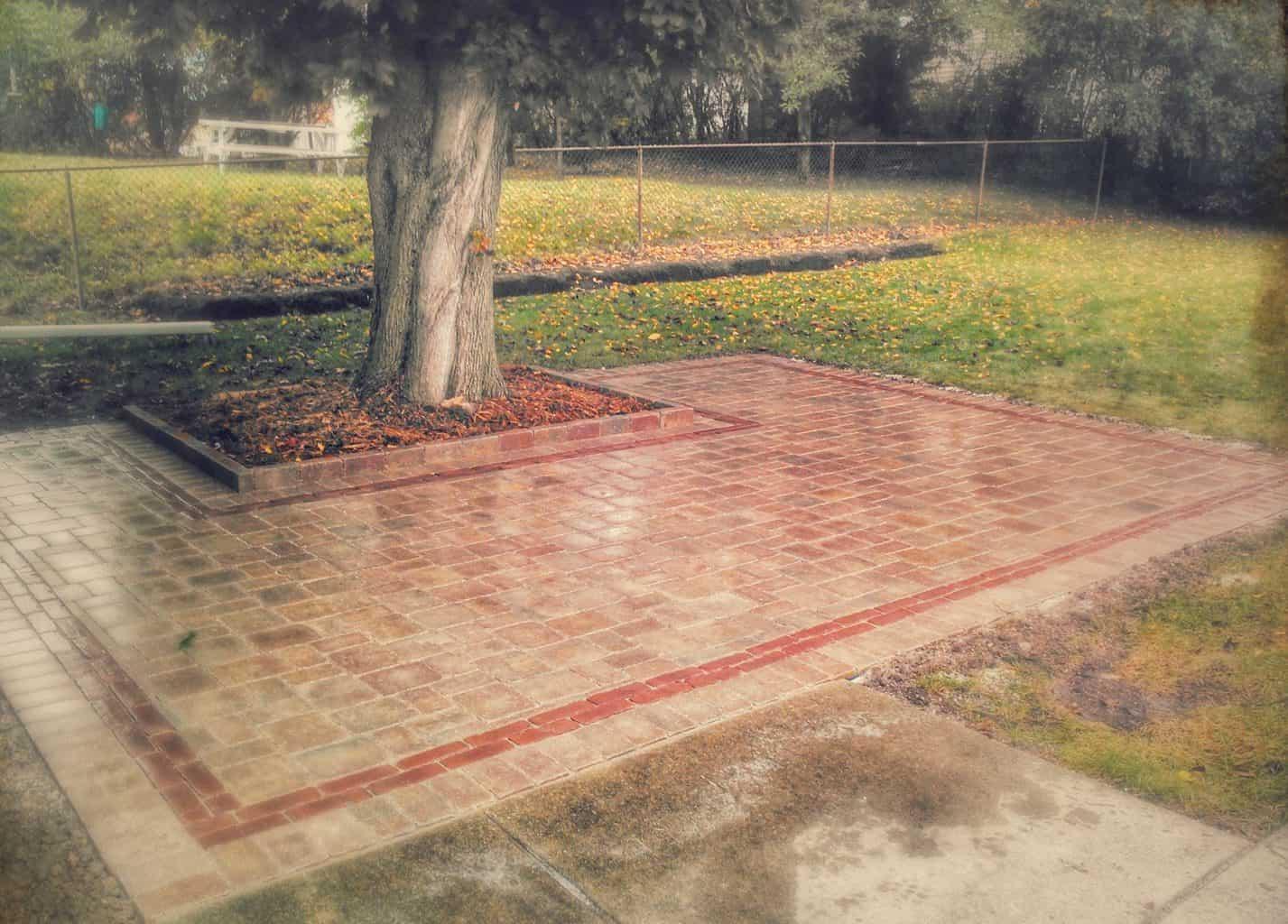 brick patio picture