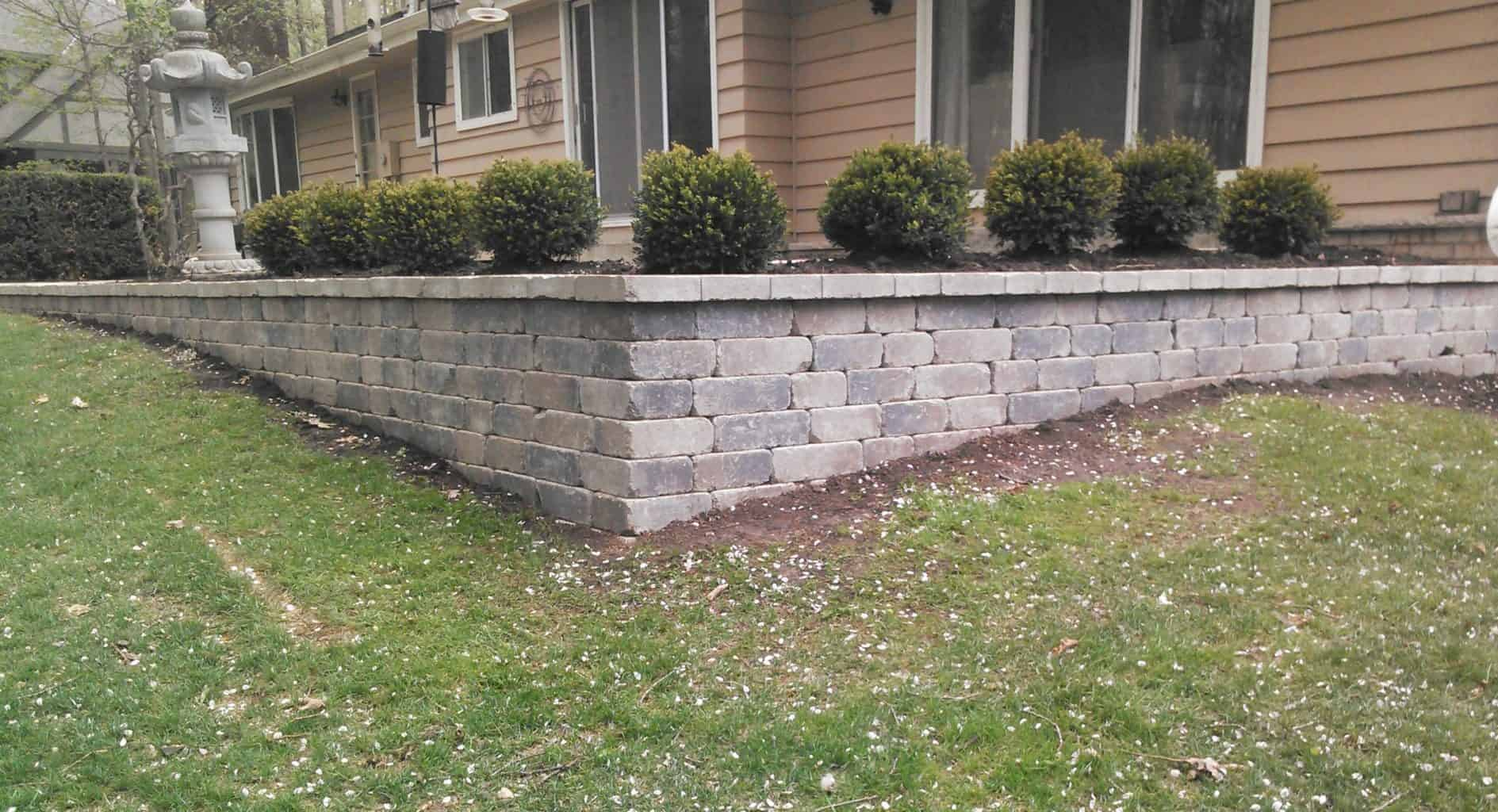 Retaining Wall picture